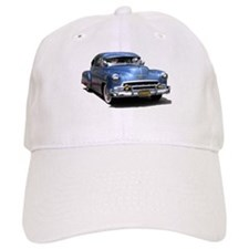Helaine's 52 Old Blue Car Baseball Cap