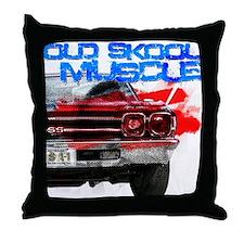 OL Skool 69 Chevelle Throw Pillow