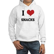 I Love Snacks Hoodie