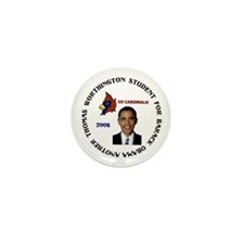 Cardinals for Obama Mini Button (10 pack)