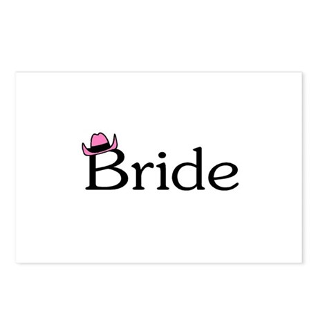 Bride (Heart) Postcards (Package of 8)