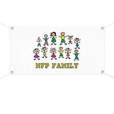 """NFP Family"" Banner"