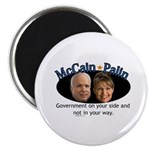 McCain/Palin On Your Side Magnet