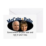 McCain/Palin On Your Side Greeting Cards (Pk of 10