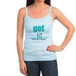 Early Detection Cervical Cancer Jr. Spaghetti Tank