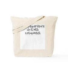 Script supervisors do it... Tote Bag
