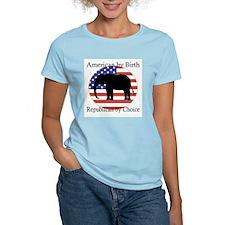 American by birth, republican T-Shirt