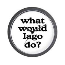 Iago Wall Clock