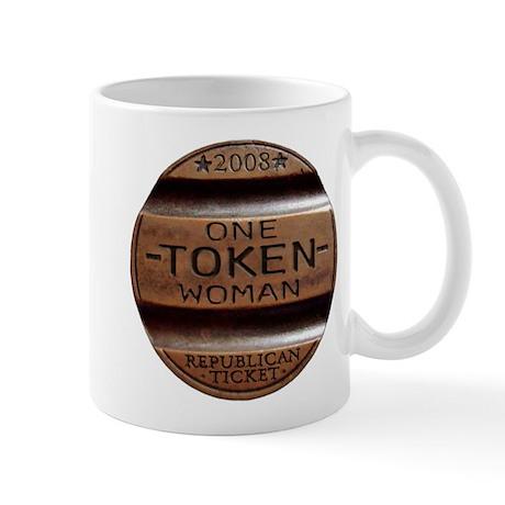 Sarah Palin Token Woman Mug