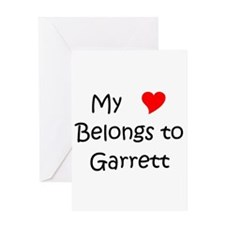 Cute Garrett Greeting Card