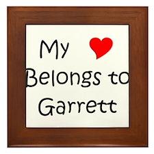 Cute Garrett Framed Tile