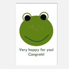 Frog (congrats) Postcards (Package of 8)