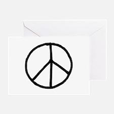 Peace Symbol Greeting Card