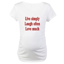 Live, Love, Laugh Shirt