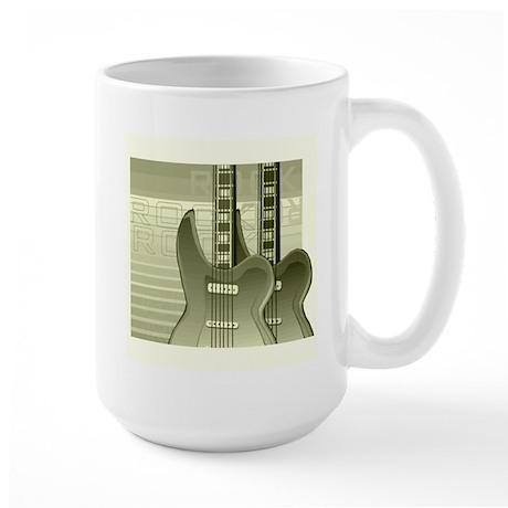 Guitar Large Mug