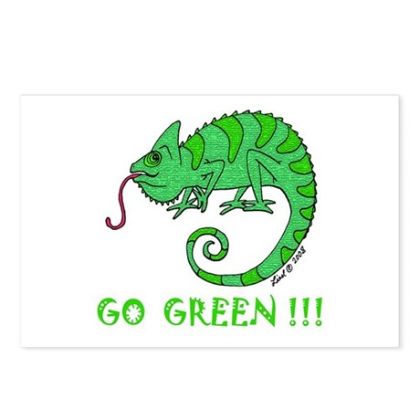 Go Green Postcards (Package of 8)