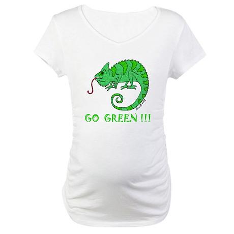 Go Green Maternity T-Shirt
