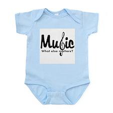 Music What Else Matters Infant Bodysuit