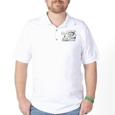 Humorous Golf Polo Style Shirt