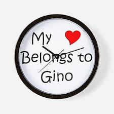 Unique Gino celtics Wall Clock