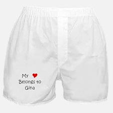 Cute Gina Boxer Shorts