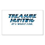 Treasure Hunter Rectangle Sticker 50 pk)