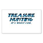 Treasure Hunter Rectangle Sticker 10 pk)