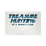 Treasure Hunter Rectangle Magnet (10 pack)
