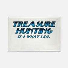 Treasure Hunter Rectangle Magnet (10 pack)