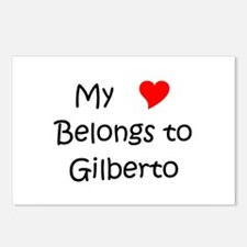 Unique Gilberto Postcards (Package of 8)