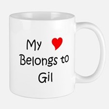 Funny My heart belongs to giuseppe Mug