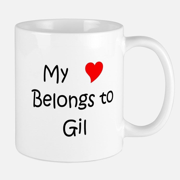 Cute My heart belongs to daryl dixon Mug