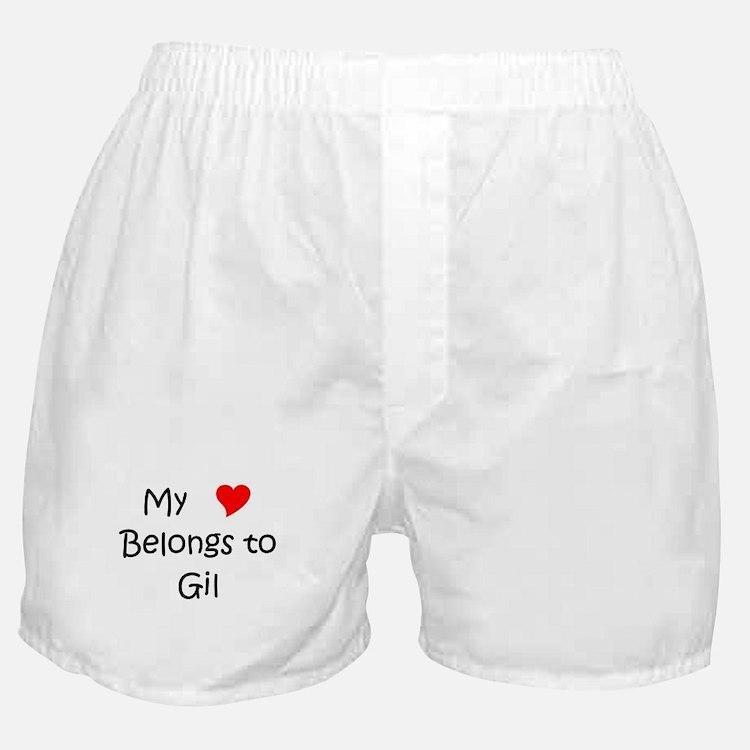 Cute Gil Boxer Shorts
