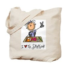I Love to Scrapbook! Tote Bag