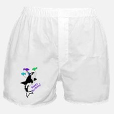 Orca Birthday Boxer Shorts