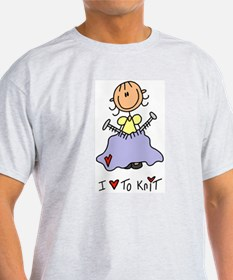 I Love to Knit! T-Shirt