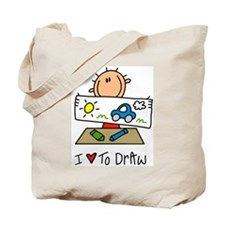 I Love to Draw! Tote Bag