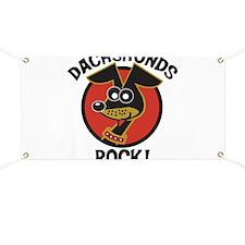 Dachshunds Rock! Banner