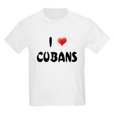 I LOVE CUBANS Kids T-Shirt