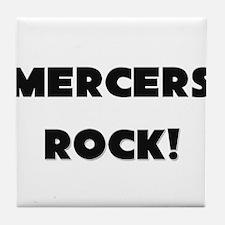 Mercers ROCK Tile Coaster