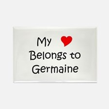 Cool Germaine Rectangle Magnet