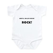 Mental Health Nurses ROCK Infant Bodysuit