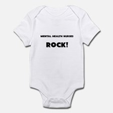 Mental Health Nurses ROCK Infant Bodysuit