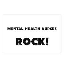 Mental Health Nurses ROCK Postcards (Package of 8)