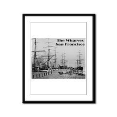 The Wharves Framed Panel Print