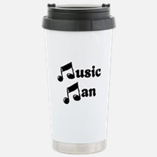 Music Man Stainless Steel Travel Mug