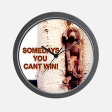 Cant Win Wall Clock