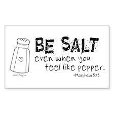 Be Salt