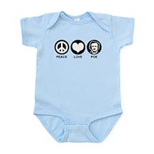 Peace Love Poe Infant Bodysuit