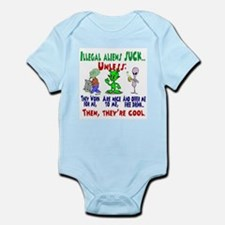 Illegal Aliens Infant Creeper